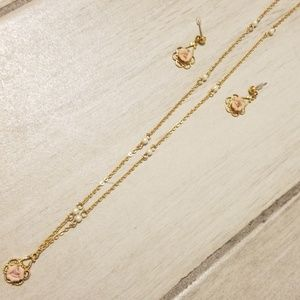 1928 Yellow Gold Necklace Set